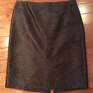 J.Crew textured pencil skirt sz 12
